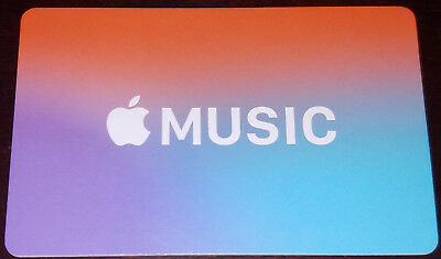 3 Month Apple Music Subscription Gift Card 27 99 Picclick