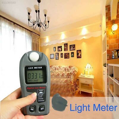 Digital Light Meter LCD Luxmeter Lux/FC Photometer Measure Tester 200000Lux ±4%
