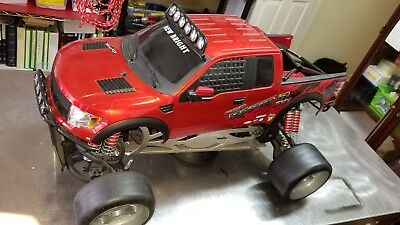 FG street truck 2x4 26cc  Zenoah ( no remote, receiver and battery )