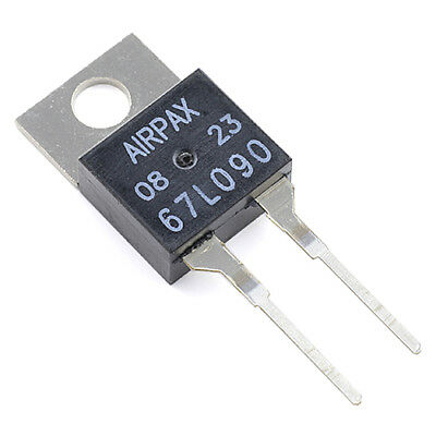 [1pcs] 67L090 Thermostat Switch 90°C Normally Closed TO220-2 AIRPAX