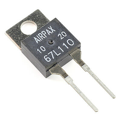 [1pcs] 67L110 Thermostat Switch 110°C Normaly Closed TO220-2 AIRPAX