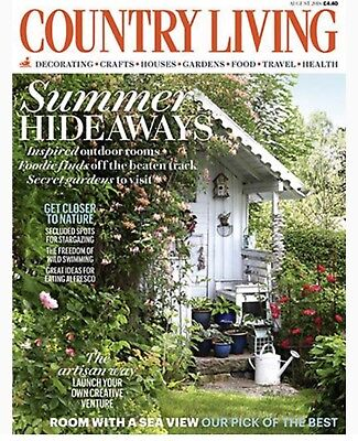 COUNTRY LIVING MAGAZINE August 2018 (BRAND NEW BACK ISSUE)
