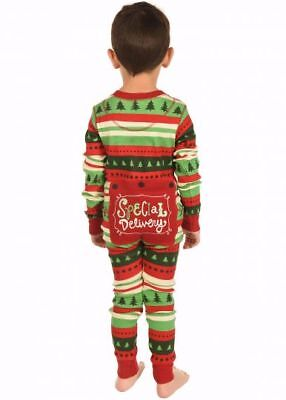 Lazy One Special Delivery Christmas Kid Flapjacks Pajamas Lounge