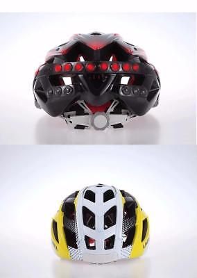Bicycle Helmet Red LED Taillight Safety Cycling Multifunctional Bike Helmet