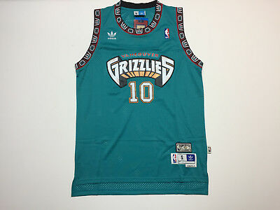 f40e8c290 Mike Bibby  10 Vancouver Grizzlies Basketball Green Mens Jersey - Brand New