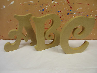 """18mm mdf wooden freestanding letters 4"""",6"""",8"""",10""""12 VICTORIAN  CHEAPEST ON EBAY"""