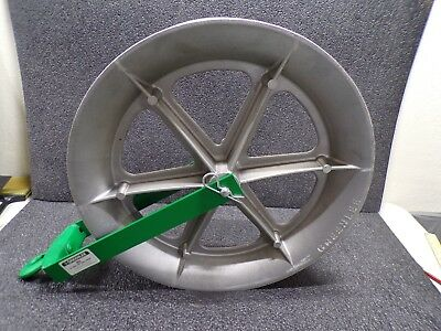 "Greenlee #653 24"" Hook Type Cable Sheave (K)"