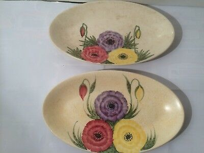 E Radford Pair of small plates