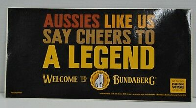 Bundy Rum Bundaberg Distilling Co. Brand New Aussie Decal Sticker
