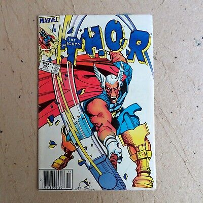 Thor 337 (1983), 1st app Beta Ray Bill & Lorelei, Newsstand, Marvel C13