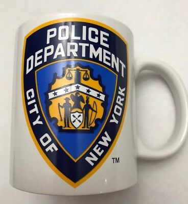 OfficiallyLicensed City Of New York Police  Department Coffee Mug