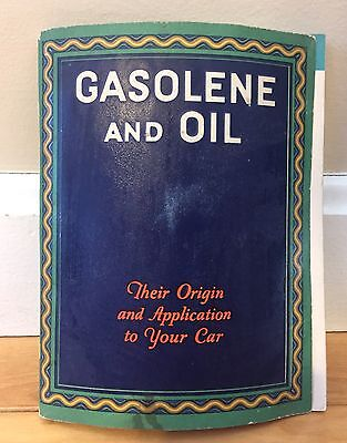 Vintage 1930 Gasolene & Oil Cities Service Henry L Doherty & Co Brochure