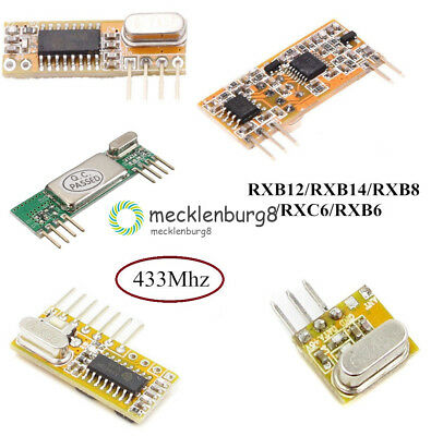 433Mhz Superheterodyne Wireless Receiver RXB8 Steady DC 3.3-5.5V for Arduino AVR