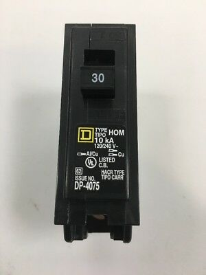 Square D Co. 30a Breaker HOM130CP