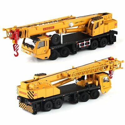 1:55 Scale Diecast Mega Lifter Crane Construction Vehicle Cars Model Toys