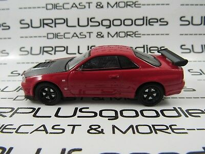 Greenlight 1:64 Scale LOOSE Collectible Red 2002 NISSAN SKYLINE GT-R R34 (BNR34)