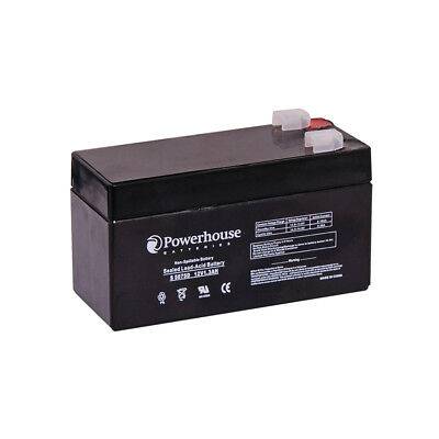 Powerhouse 12V 1.3Ah Sealed Lead Acid (SLA) Battery