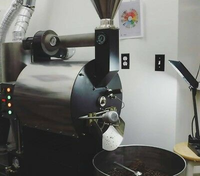 Black 3kg Coffee Roaster, data logging, & Chaff Collector - Good Condition!