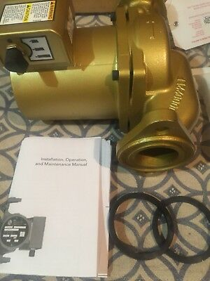 Recirculating Pump Bell & Gossett 3 speed Hot water Recirculating Pump.
