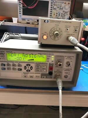 Agilent 53147A Microwave Frequency Counter/Power Meter/DVM 20GHz GOOD opt 1, 2