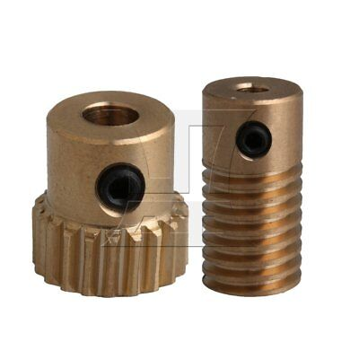 49:1 worm gear reducer gearbox 1//4 inch square input