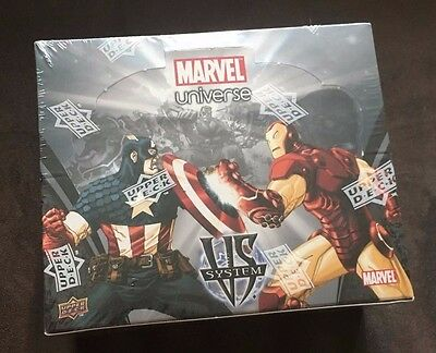 Marvel Universe Trading Card Game (New & Sealed)