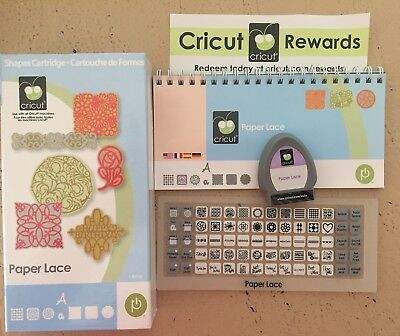 Brand NEW - Cricut Cartridge ~ PAPER LACE - Buy 5 Get 1 Free!!!