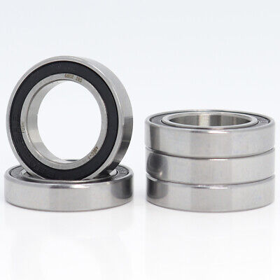 2pcs 6803-2RS Sealed Full Ceramic Bearing ZrO2 Ball Bearing 17x26x5mm #A39I LW