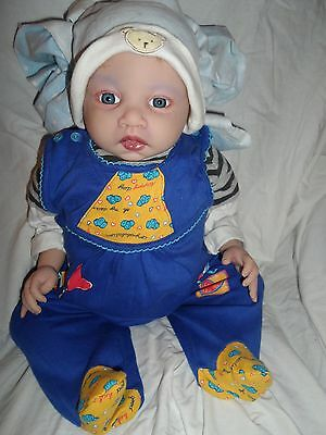 Reborn Baby Lulu By Jen Printy Very Cute Little Boy To Come Home