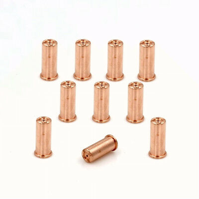 PD0063-10 Plasma Cutter Extended Tips 1.0mm for Trafimet Ergocut CB70 Torch