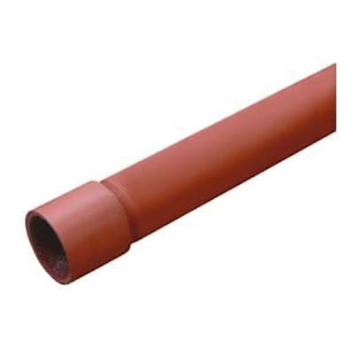 "Red Oxide pipe threaded - 1/2"" - 2"" BS1387 (EN1025) medium steel pipe/tube"
