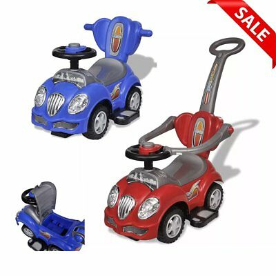 Toddler Ride On Car Push Along Car With Bar Kids Baby Toddler Riding Vehicle Toy