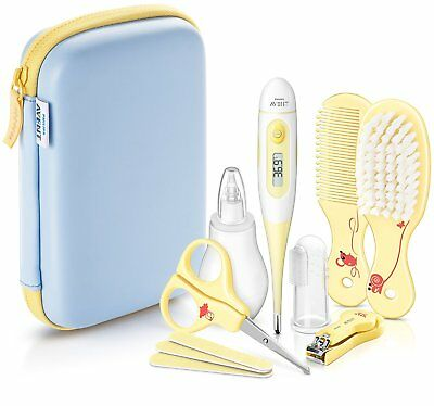 Philips Avent High Quality Baby Essentials Beauty Set Complete Care Grooming Kit