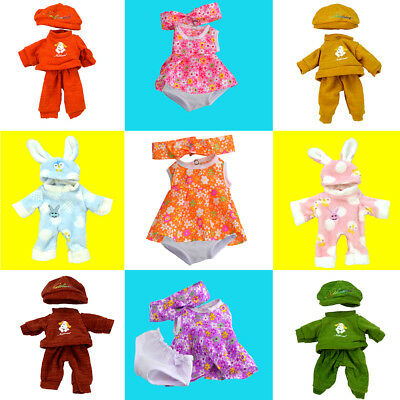 12 inch Beautiful Baby Dolls Bears Clothes Generation Colorful Suit My Life Doll