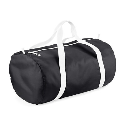 BagBase Packaway Barrel Bag - Gym Bag - Duffle Bag - 15 Colours