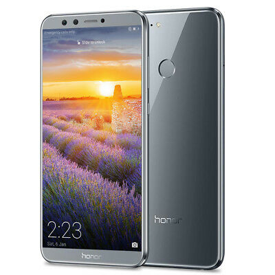 """5.65"""" 18:9 HUAWEI Honor 9 Lite 4G Téléphone Android8.0 Octa-core 3GO+32GO 4*Cams"""