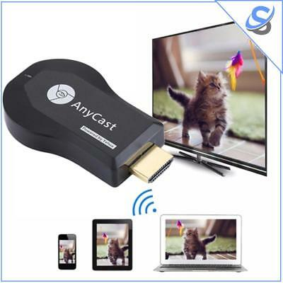 AnyCast M4 PLus TV Dongle Receiver Miracast DLNA WiFi 1080p HDMI iOS Android