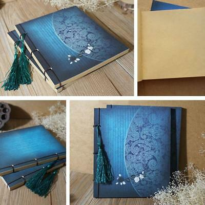 Journal Thick Notebook Blank Page Diary Leather Cover Diary_bookP