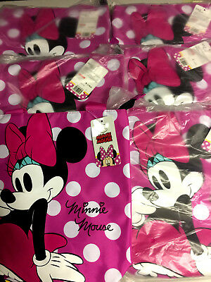 6 Wholesale Disney Minnie Mouse Girls School PE Swimming Birthday Party Bags