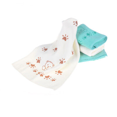 5Pcs Cute Bear Baby Infant Bath Towel 25*50cm Kids Washcloth Towel`AQ