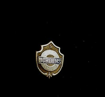 BORDEN'S  5 Years Service 14K GOLD Lapel PIN
