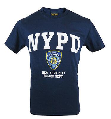 Officially Licensed NYPD T-Shirt. UK Seller. New York Police Hologram Tag.