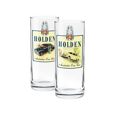 Holden Set 2 Highball Glasses Gift Pack Authentic Fathers Day