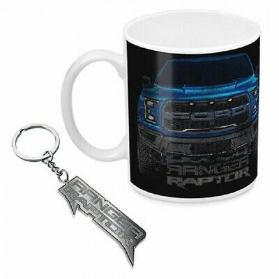 Ford Ranger Mug & Keyring Authentic Licensed Gift Box Fathers Day