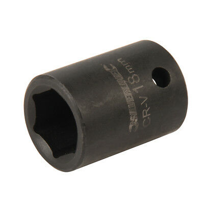 "Silverline 467682 Impact Socket 1/2"" Drive 6 Point Metric 18mm"