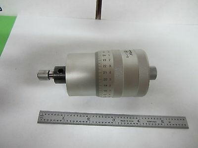 Microscope Part Mitutoyo 152-392 Stage Micrometer As Is Bin#r9-03