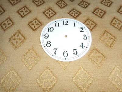 Round Paper Clock Dial - 55mm M/T-Arabic- Gloss White - Face/ Clock Parts