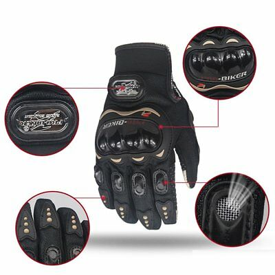 motorcycle Full Finger gloves touch screen protective racing Outdoor glove gants