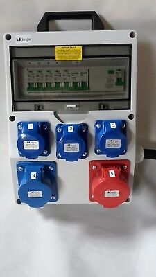 32A-63A Distribution board,power box,Hook Up,stage,event distro,3 phase splitter