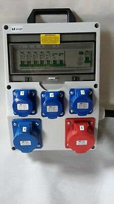 63Amp Distribution board,power box,Hook Up,stage,event distro, 3 phase splitter